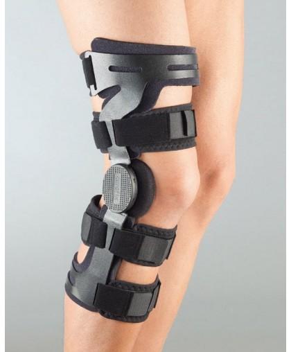 Ортез на коліно Аурастап від Aurafix з шарнірами і можливістю регулювання кута 171