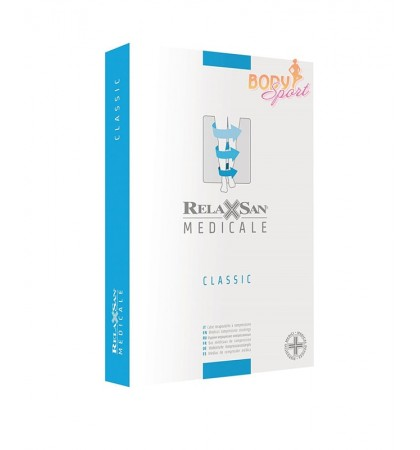 Компрессионные чулки 2 класс Relaxsan Medicale Classic М2460А (с открытым носком)