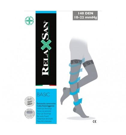 Компрессионные чулки 1 класса Relaxsan BASIC 870 (140 den)
