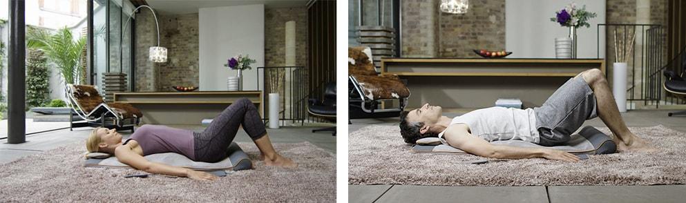 Массажный мат Homedics Yoga Stretch