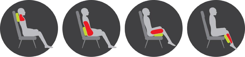 Как пользоваться массажной подушкой